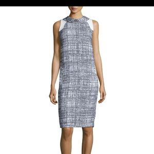 Carolina Herrera sleeveless tweed Sheath dress